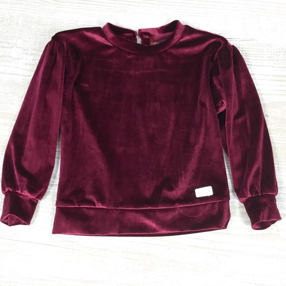 7 For All Mankind Other - KIDS: NWT 7 for all Mankind Velvet Long Sleeve Top